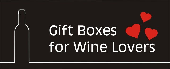 Engraved Woodend and Leather Gift Boxes for Wine Lovers