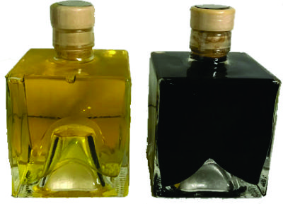 Engraved Square Olive Oil