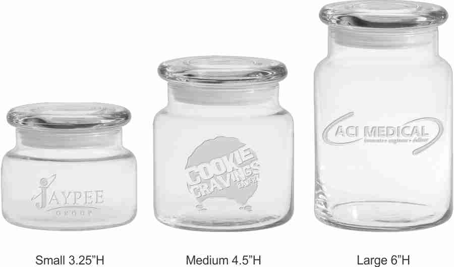 Personalized Engraved Jars