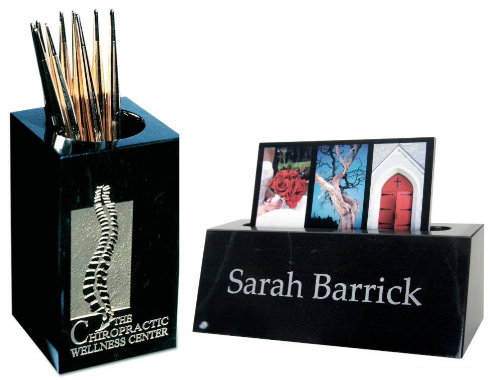 Pens & Business Card Holders
