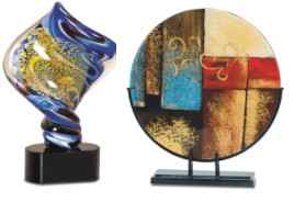 Art Glass Awards, Plates & Vases