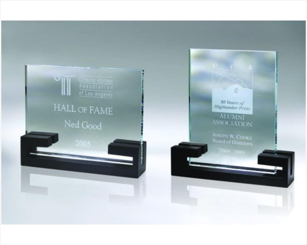 Free Standing Plaque Awards