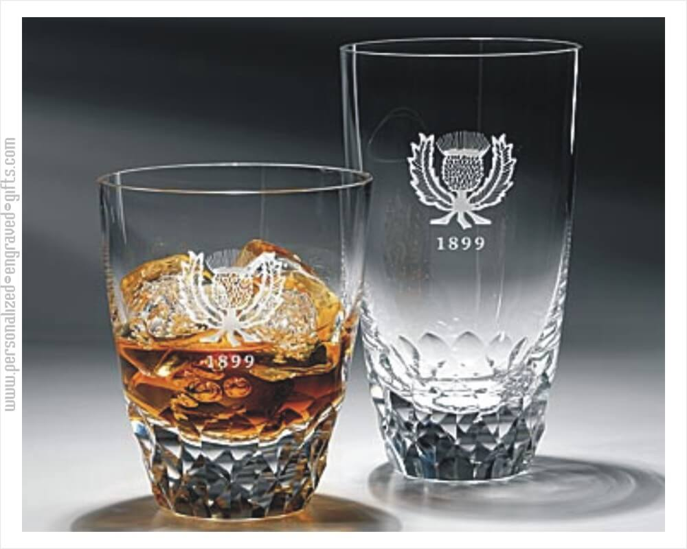 Personalized 10 Oz Double Old Fashioned Amp 15oz Hiball