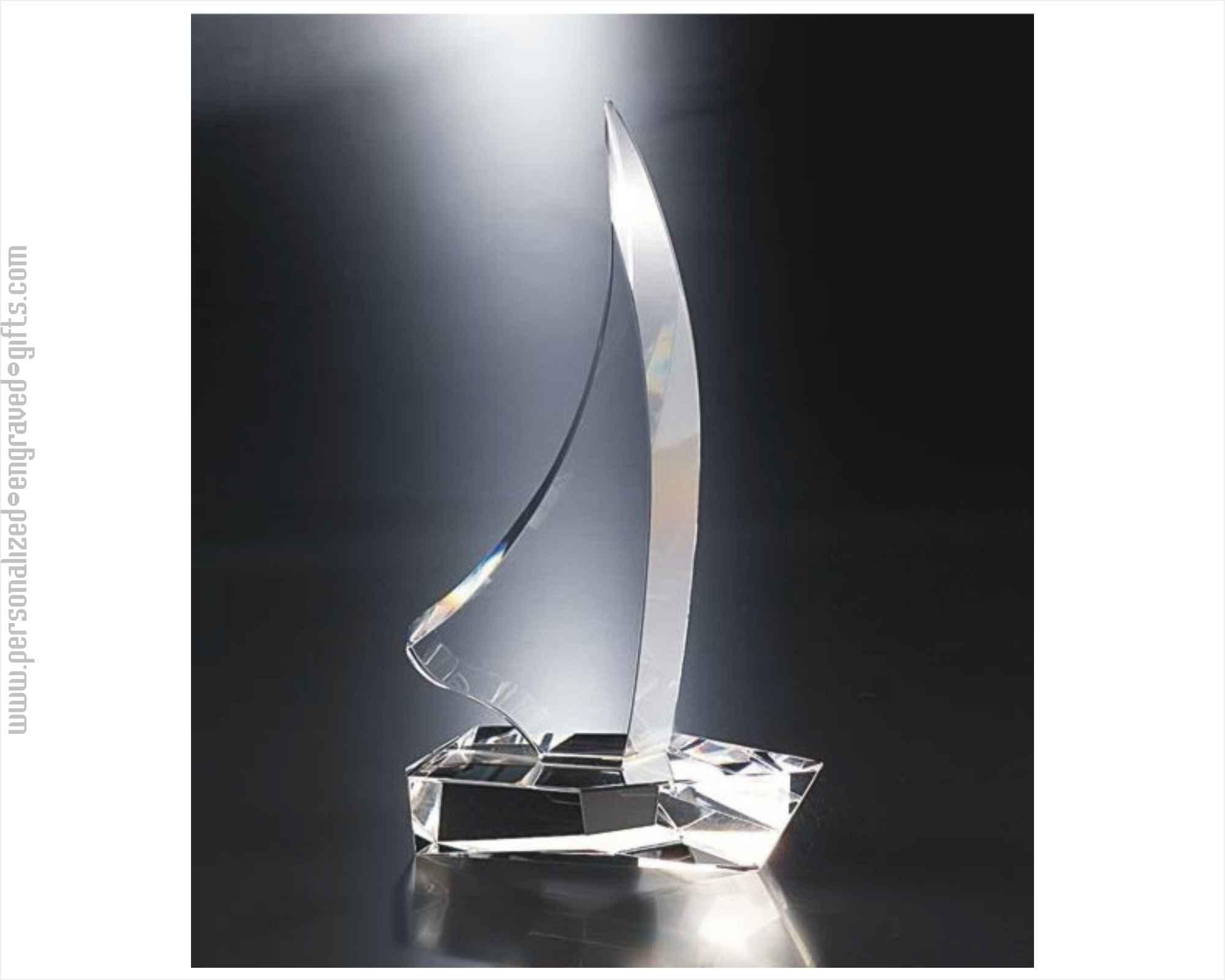 Crystal Clear Sailboat Award