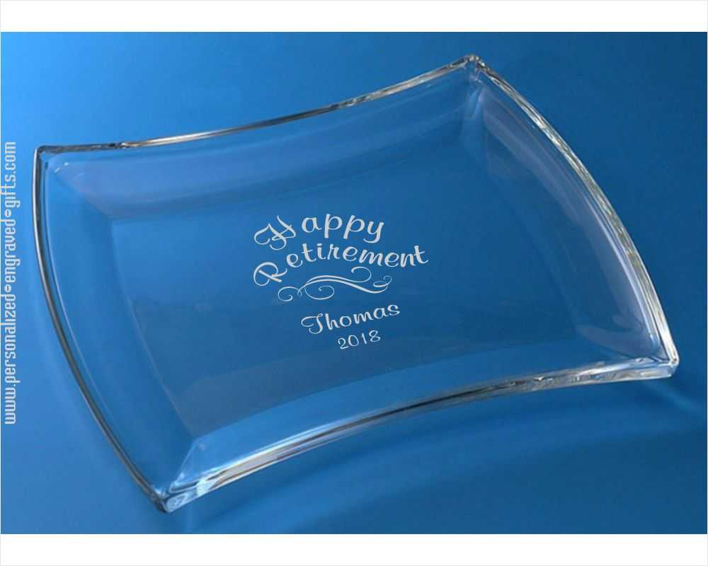 Clear Glass Dish trays