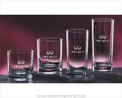 Straight Sided Barware Glasses - Lincoln