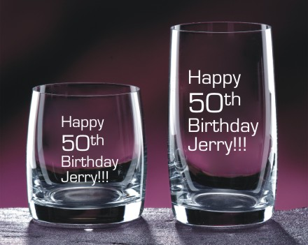 Barware Engraved for Birthdays & More - The Zenith