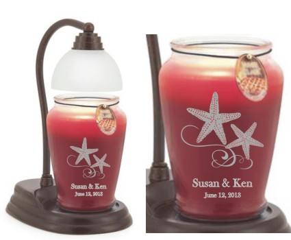Engraved Candle Warmers
