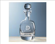 Personalized Heavy Crystal Decanter - 32 oz - The Muse
