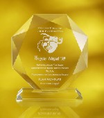 Engraved Awards - Crystal Diamond Award