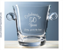 Classico Ice Bucket for Home or Office Celebrations