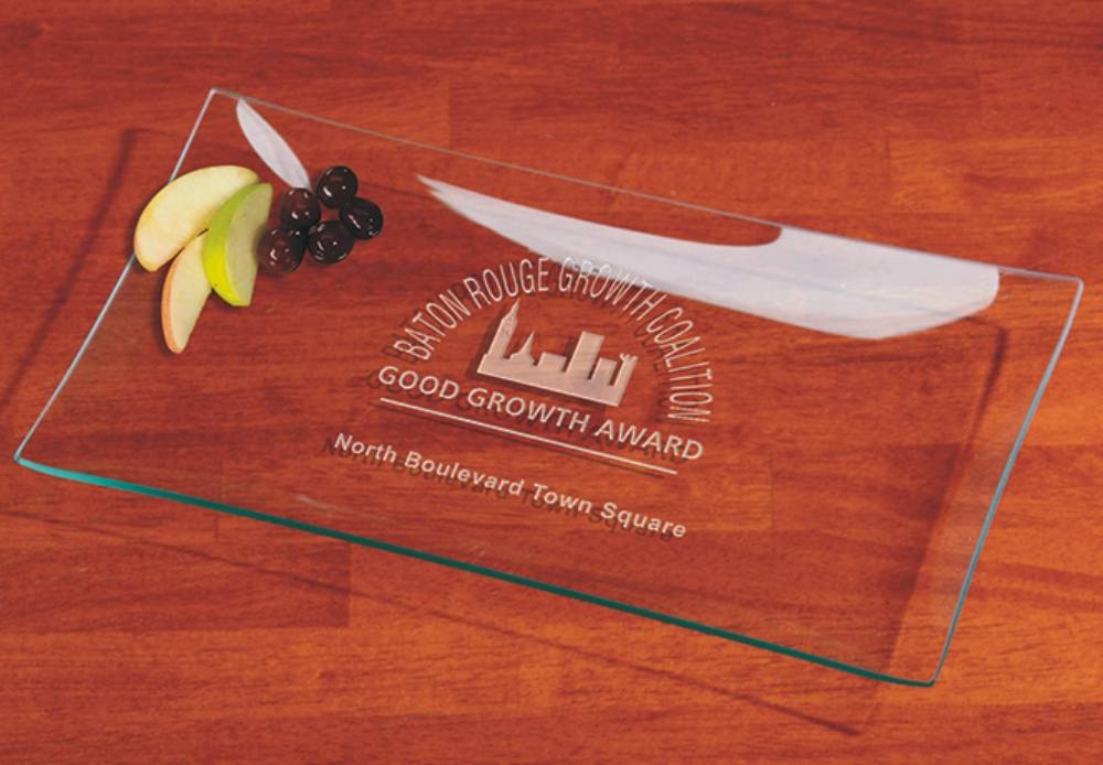 presentation plates trays platters engraved for a personalized gift