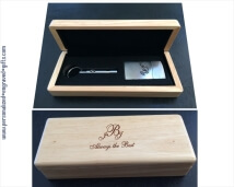 Personalized Zippo Lighter & Punch Cutter Gift Set
