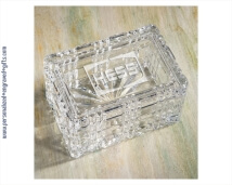 Engraved 2 Piece Lead Crystal Keepsake Box
