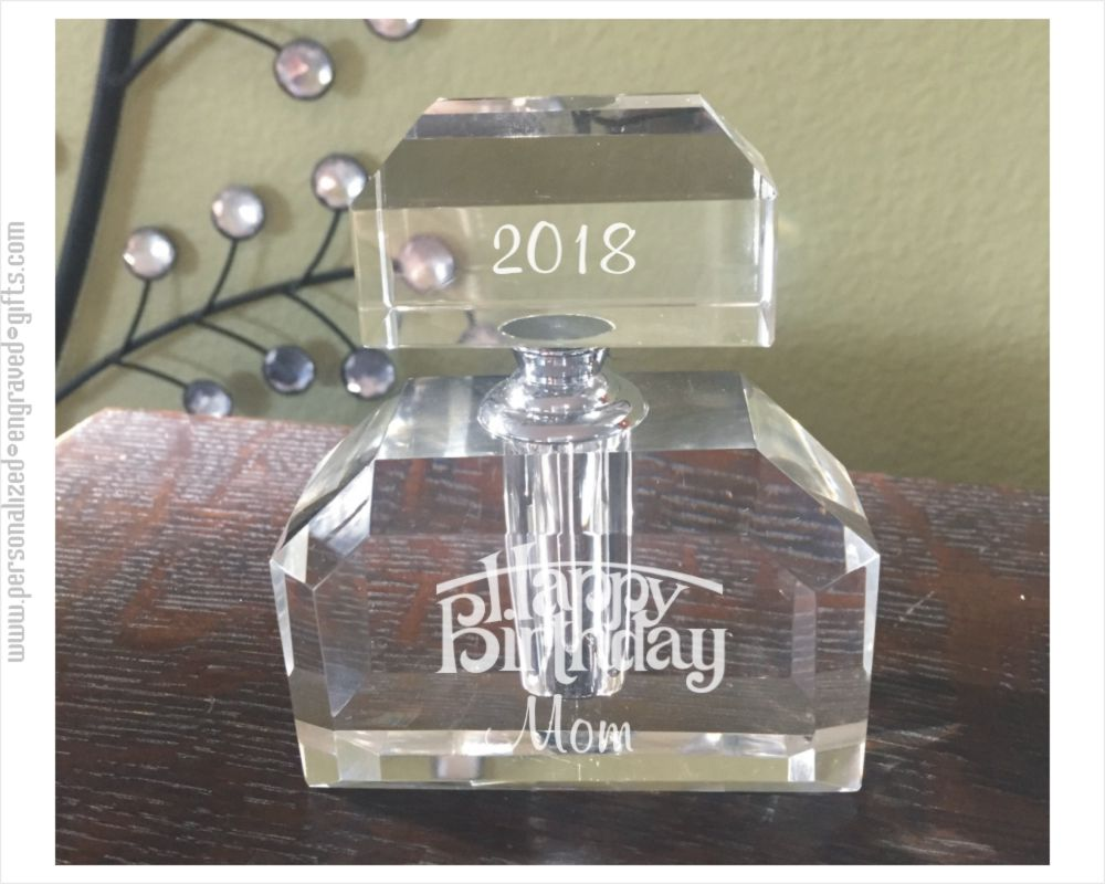 Customized Modernist Crystal Perfume Bottle - Tia