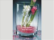 Refined Elegance in Crystal Vase - The Bay