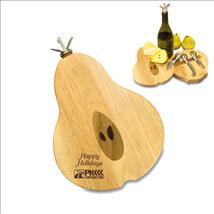 Pear Shaped Cheese Board - Laser Engraved