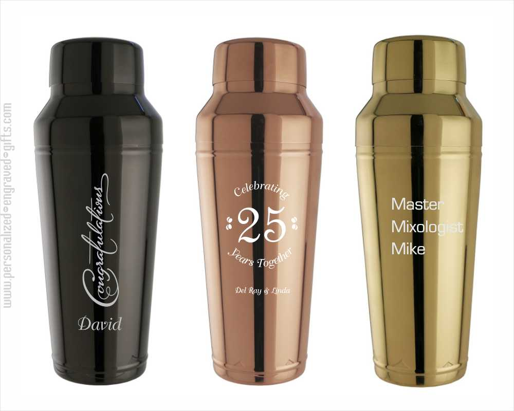 24 oz Stainless Steel Cocktail Shakers Sidecar