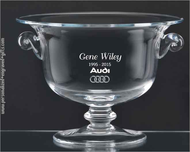 Crystal Glass Personalized Gifts Bowls