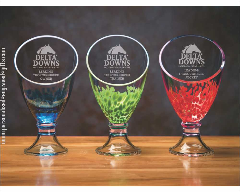 Colorful Spotlight Vases Personalized and Deep Engraved