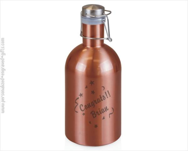 Copper Finish Stainless Steel Beer Growler