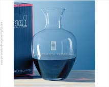 Riedel Big Apple Decanter Custom Engraved for any Wine Lover