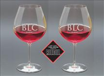 Riedel Vinum Burgundy Wine Glass - Engraved with Custom Text or Artwork