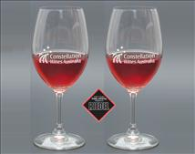 Engraved Riedel Ouverture Red Wine Glass