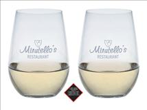 Engraved Riedel O Riesling/Sauvignon Blanc Wine Glass