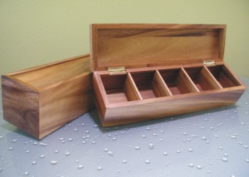 Tea Box with 5 Compartments Prince Earl