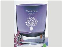 Violet Glass Pocket Vase The Mathis