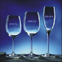 Personalized Wine Glasses & Flutes - Arcadia (Set of 2)