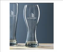 Engraved Signature Classic Beer Glass