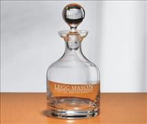 Custom Engraved Crystal Decanter - 32 oz - Classico