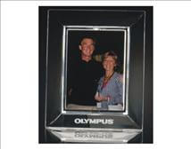Etched Lead Crystal Picture Frames