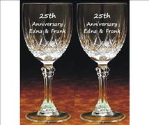 Engraved Wine Goblets (Set of 2) Massalia
