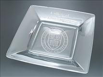Personalized Glass Square Plates
