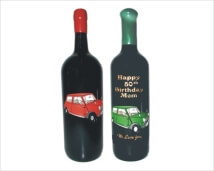 Engraved Wine bottles - Mini