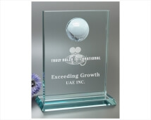 Etched World Glass Award