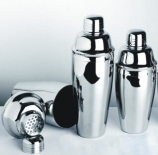 Stainless Steel Classic Cocktail Shakers Personalized