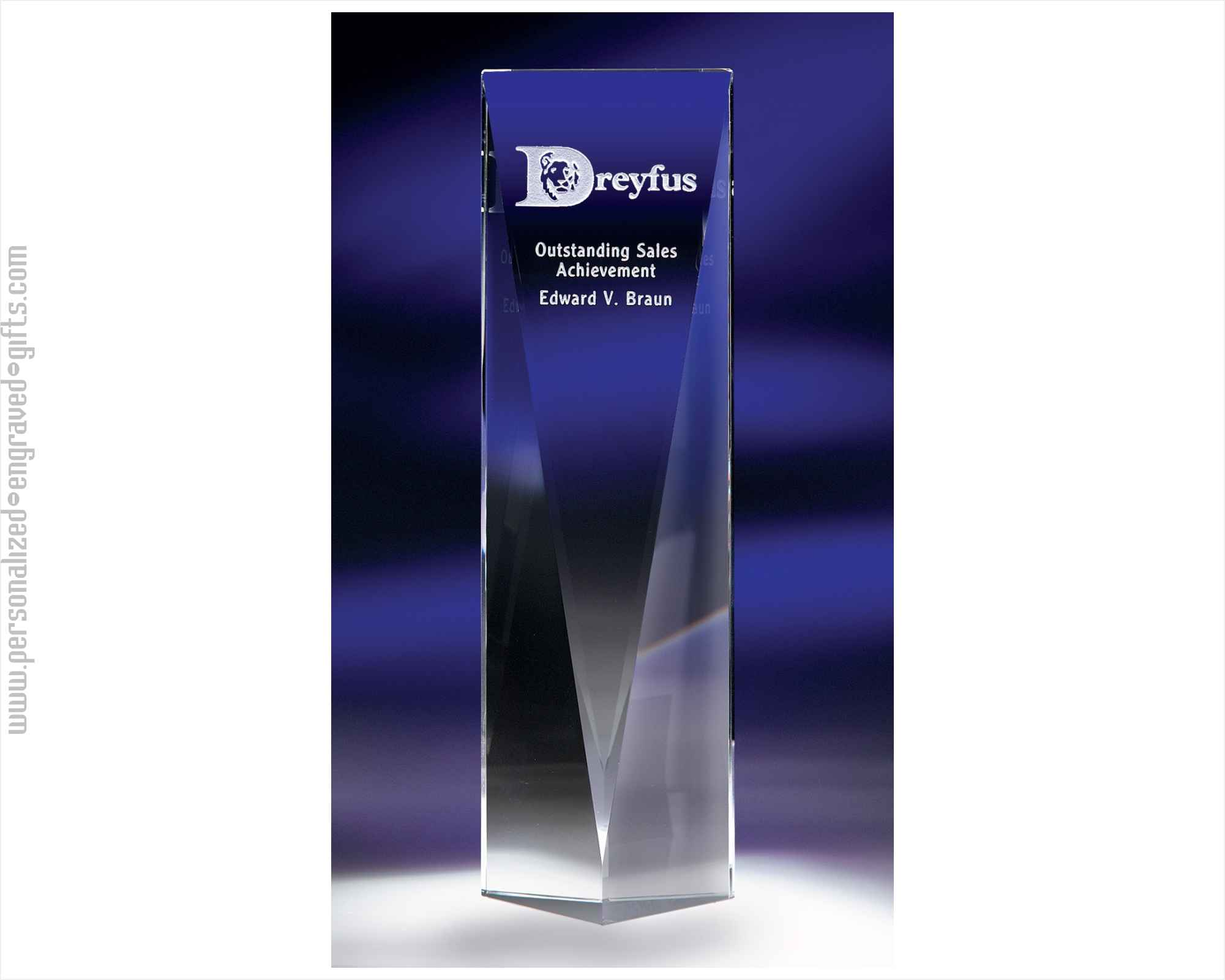 Excellere Optic Crystal Tower Award