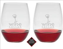 Riedel O Cabernet/Merlot Wine Glass Personalized with Your Best Wishes