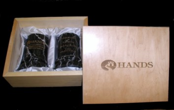 Engraved Heavy Wooden Gift Box