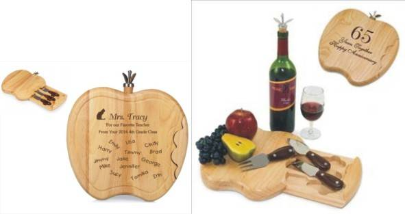 Engraved Apple Cheese Board Ideas
